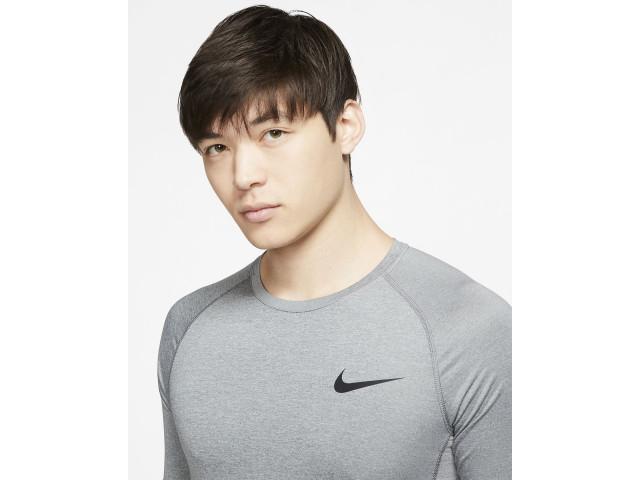 Nike Pro Men's Tight-Fit Short-Sleeve Top - Компрессионная Футболка