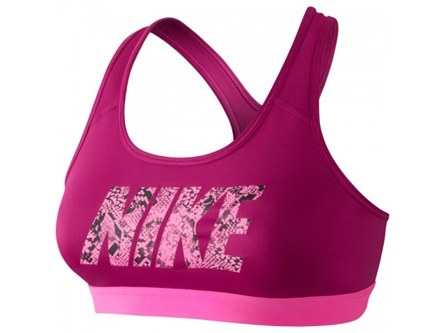 Nike Pro Classic Logo Sports Bra - Женская Бра