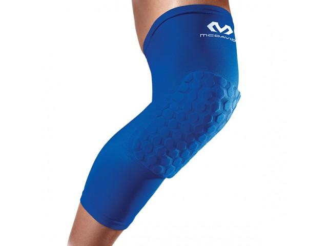 McDavid Extended Compression Leg Sleeve with Hexpad - Компрессионный Наколенник с Защитой