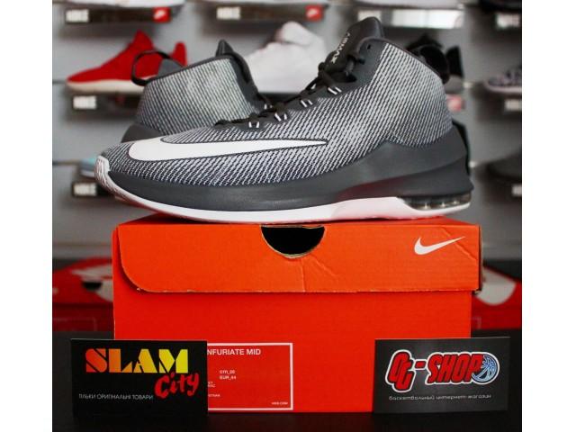 Nike Air Max Infuriate Mid - Баскетбольные Кроссовки