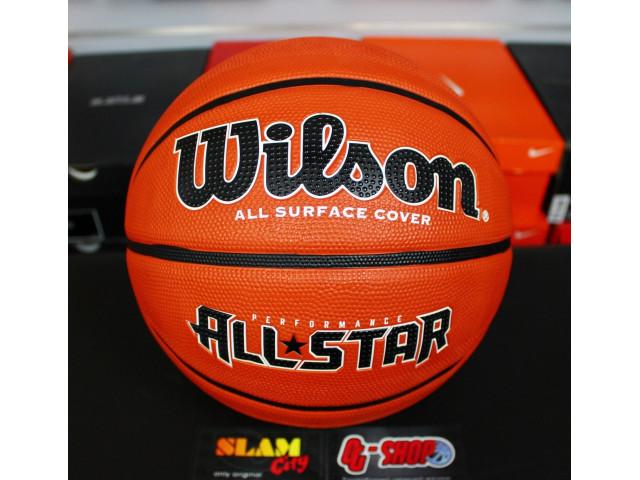 Wilson Performance All Star - Универсальный баскетбольный мяч